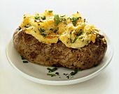 Twice Baked Potato with Chives