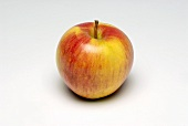 A red and yellow apple (variety: Sonata)