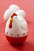 Hen Shaped Kitchen Timer, Eggs