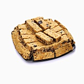 Blondie Bars Piled on a Tray, White Background