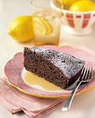 A Slice of Ginger Cake