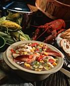 Lobster Corn Stew