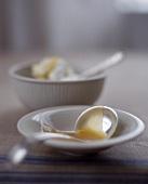 Bowl with Gravy Spoon