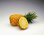 Pineapple with a Slice