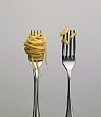 Spaghetti Twirled on Two Forks