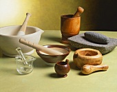 Assorted Mortar and Pestles