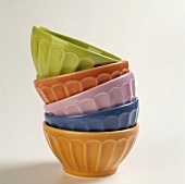 Colored Stacked Bowls