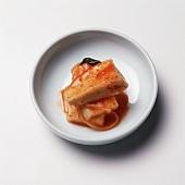 Korean Panchan Tofu Dish