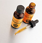 Tinctures of St. John's Wort and Saw Palmetto