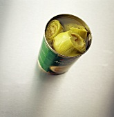 Open Can of Artichoke Hearts