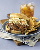 Beef Barbecue Sandwich