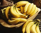 Fresh Bunches of Bananas