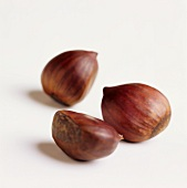 Three sweet chestnuts