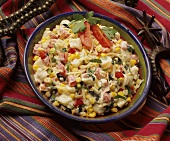 Southwestern Potato Salad with Corn and Tomatoes
