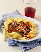 Pappardelle Noodles with Beef Ragu
