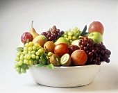 Still Life: Assorted Fruit in a Bowl