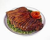 Barbecue Sliced Tri-Tip Steak
