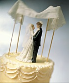 Top of a Jewish Wedding Cake