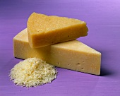 Wedges of Parmesan Cheese