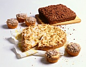 Assorted Crumb Cakes and Muffins
