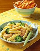 Ziti with Shrimp and Broccoli