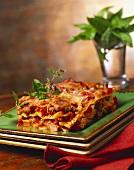 Piece of Meat Lasagna