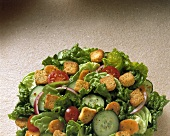 Close Up of a Tossed Salad
