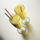 Mango and Passion Fruit Smoothies