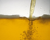 Pouring Beer (Close-Up)