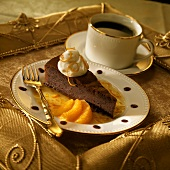 Slice of Orange Chocolate Torte