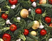 Still Life: Assorted Vegetables