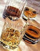 Four Whiskies