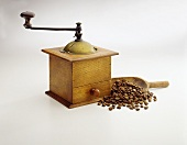 An Old Fashioned Coffee Grinder