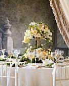 Bridal Table Setting