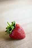 A Single Whole Strawberry