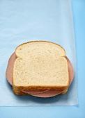 Whole Bologna Sandwich