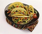 A Beef Taco Platter