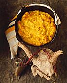 Eierteig-Brot der Cheyenne Indianer (USA)