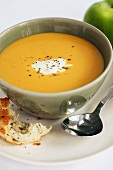 A Bowl of Pumpkin Soup