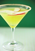 An Apple Martini