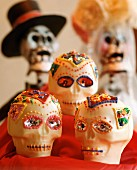 Mexican Sugar Day of the Dead Skulls