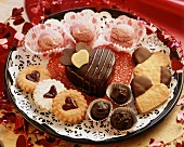 Tray of Valentine's Day Sweets