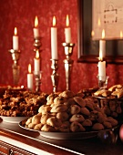 Cookie Buffet with Candles