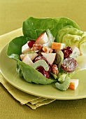 Waldorf Salad in a Lettuce Cup