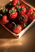 Box of New England Strawberries
