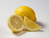 Whole Lemon, Lemon Wedge, Lemon Half