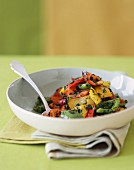 Bell Pepper and Herb Stir Fry