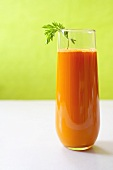 Tall Glass of Carrot Juice