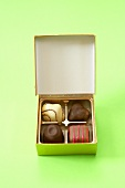 Box of Four Assorted Chocolates