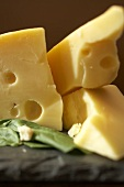 Wedges of Swiss Cheese